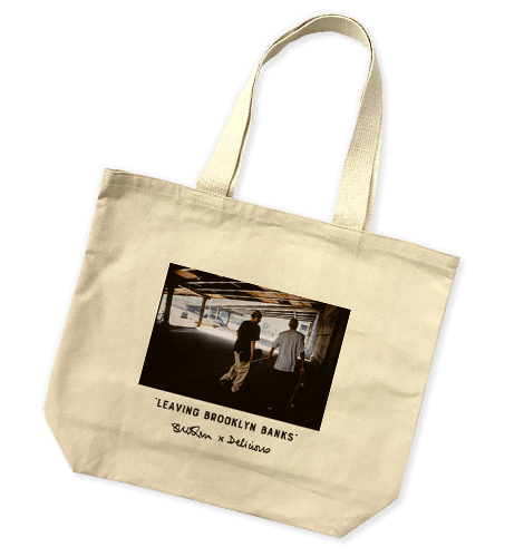Sue Kwon for Delicious Leaving Brooklyn Banks Tote Bag