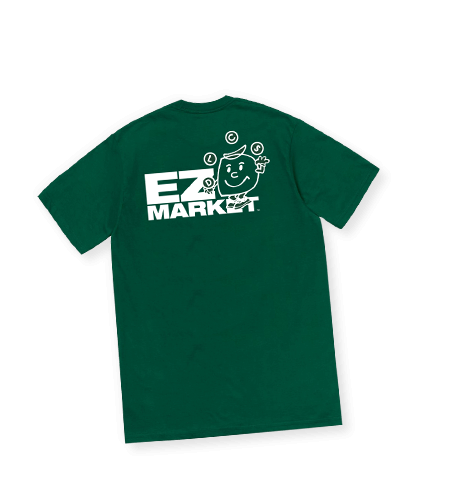 SAND for EZ D MARKET / EZD Logo Tee